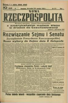 Nowa Rzeczpospolita. R.1, nr 171 (14 września 1938) wydanie II