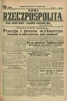 Nowa Rzeczpospolita. R.1, nr 173 (17 września 1938)