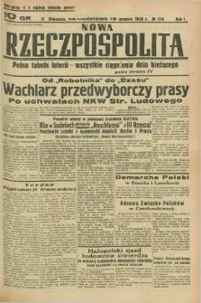 Nowa Rzeczpospolita. R.1, nr 178 (19 września 1938) wydanie II