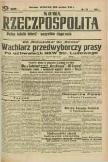 Nowa Rzeczpospolita. R.1, nr 178 (20 września 1938)