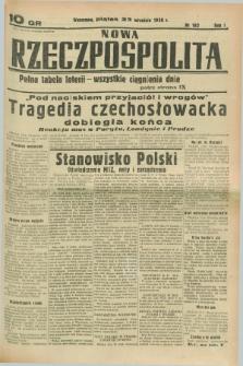 Nowa Rzeczpospolita. R.1, nr 182 (23 września 1938)