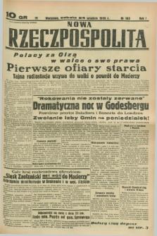 Nowa Rzeczpospolita. R.1, nr 185 (24 września 1938)