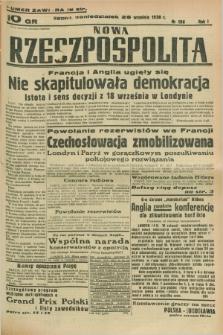 Nowa Rzeczpospolita. R.1, nr 186 (25 września 1938)