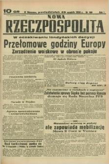 Nowa Rzeczpospolita. R.1, nr 188 (26 września 1938)