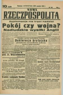 Nowa Rzeczpospolita. R.1, nr 192 (29 września 1938)