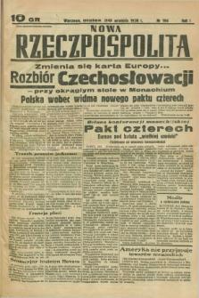Nowa Rzeczpospolita. R.1, nr 194 (30 września 1938)