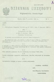Dziennik Urzędowy Województwa Toruńskiego. 1992, nr 1 (8 stycznia)
