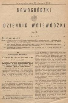 Nowogródzki Dziennik Wojewódzki. 1931, nr2