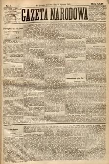 Gazeta Narodowa. 1885, nr5