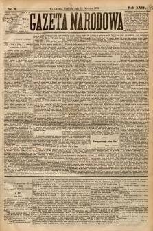 Gazeta Narodowa. 1885, nr8