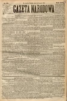 Gazeta Narodowa. 1885, nr14