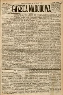 Gazeta Narodowa. 1885, nr17