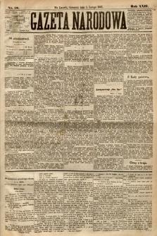 Gazeta Narodowa. 1885, nr28
