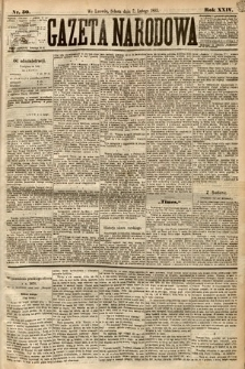Gazeta Narodowa. 1885, nr30