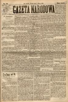 Gazeta Narodowa. 1885, nr50