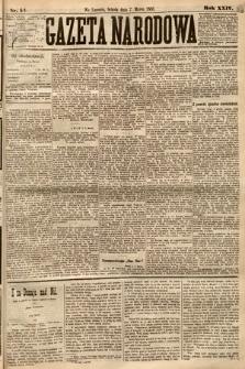 Gazeta Narodowa. 1885, nr54