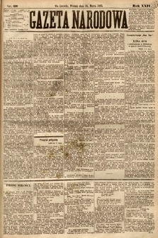 Gazeta Narodowa. 1885, nr68