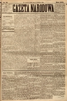 Gazeta Narodowa. 1885, nr76