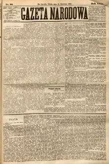 Gazeta Narodowa. 1885, nr88