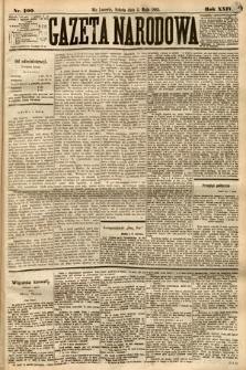 Gazeta Narodowa. 1885, nr100