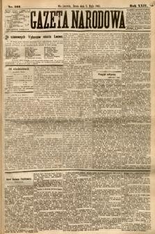 Gazeta Narodowa. 1885, nr103