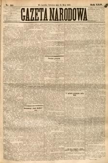 Gazeta Narodowa. 1885, nr115
