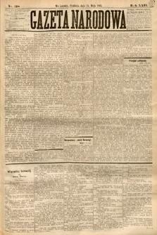 Gazeta Narodowa. 1885, nr118