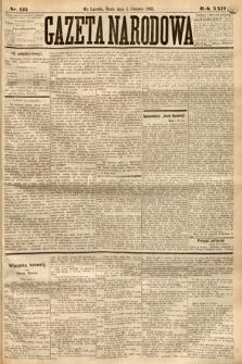 Gazeta Narodowa. 1885, nr125
