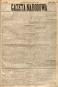 Gazeta Narodowa. 1885, nr129