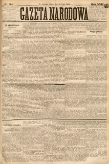 Gazeta Narodowa. 1885, nr150