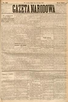 Gazeta Narodowa. 1885, nr155