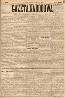 Gazeta Narodowa. 1885, nr169