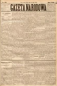 Gazeta Narodowa. 1885, nr171