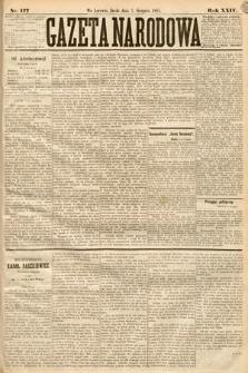 Gazeta Narodowa. 1885, nr177