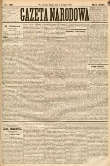Gazeta Narodowa. 1885, nr179