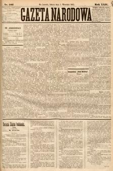 Gazeta Narodowa. 1885, nr203