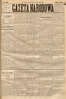 Gazeta Narodowa. 1885, nr224