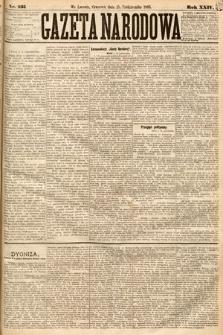 Gazeta Narodowa. 1885, nr235