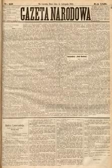 Gazeta Narodowa. 1885, nr258