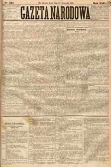 Gazeta Narodowa. 1885, nr264