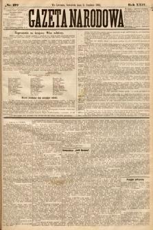 Gazeta Narodowa. 1885, nr277