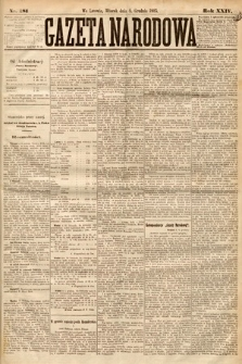 Gazeta Narodowa. 1885, nr281