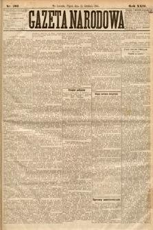 Gazeta Narodowa. 1885, nr283
