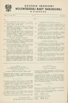 Dziennik Urzędowy Wojewódzkiej Rady Narodowej w Sieradzu. 1983, nr 4 (30 maja)