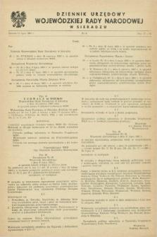 Dziennik Urzędowy Wojewódzkiej Rady Narodowej w Sieradzu. 1983, nr 6 (15 lipca)
