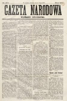 Gazeta Narodowa (wydanie wieczorne). 1877, nr154