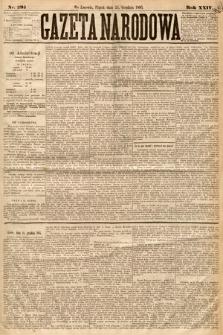 Gazeta Narodowa. 1885, nr295