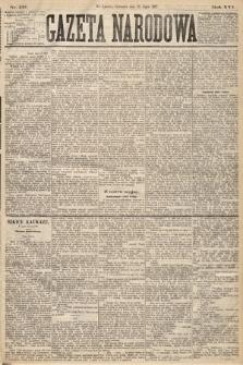 Gazeta Narodowa. 1877, nr157