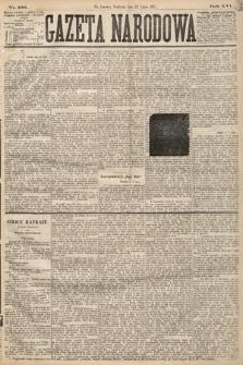 Gazeta Narodowa. 1877, nr166