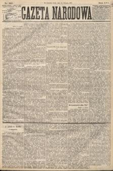 Gazeta Narodowa. 1877, nr186